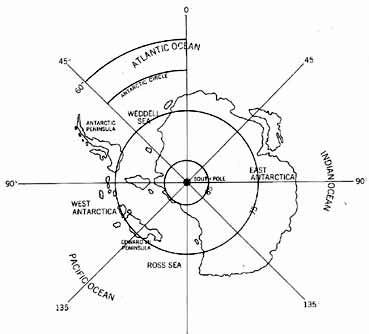 369x334 Sketch Map Of Antarctica As It Would Appear Without The Icecap