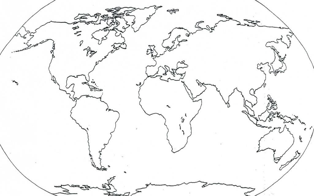 1024x640 Blank World Map With Antarctica