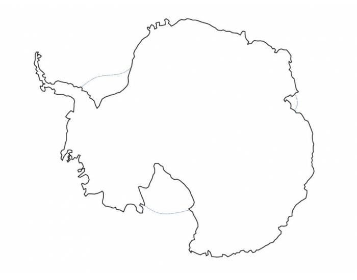 700x550 Antarctica Map Practice