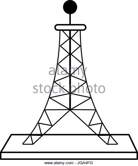 Antenna Tower Drawing at GetDrawings com | Free for personal use