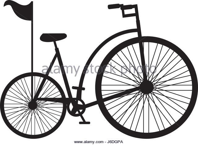 640x470 Antique Bicycle Sketch Stock Photos Amp Antique Bicycle Sketch Stock