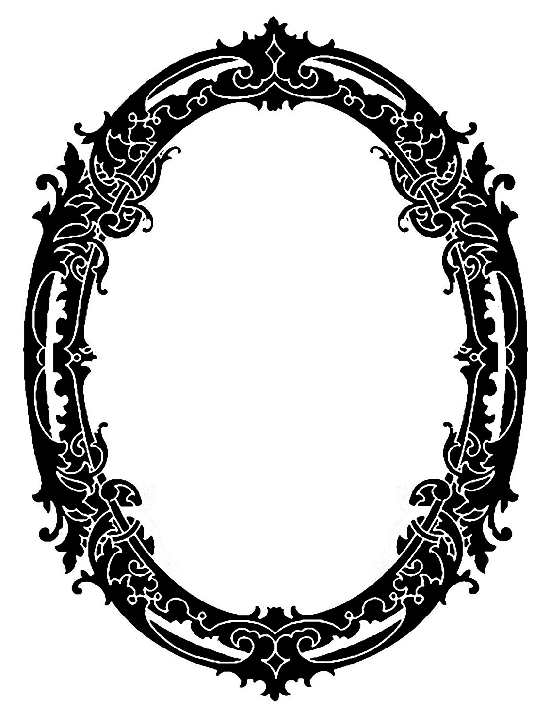Antique Frame Drawing at GetDrawings.com | Free for personal use ...