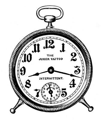 337x400 Clock Drawing