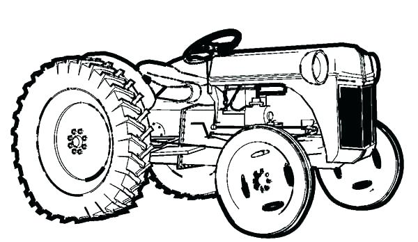 600x348 Farm Pictures To Print Perfect Tractor Printable Coloring Pages