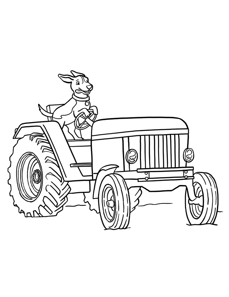 773x1000 Free Tractor Coloring Pages For Kids Cars Etc.