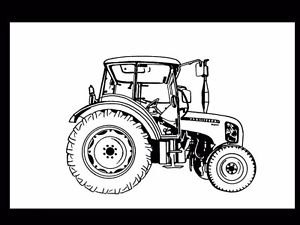 300x225 Zetor 3321 3341 4341 7341 Operations Manual 230pg For Tractor