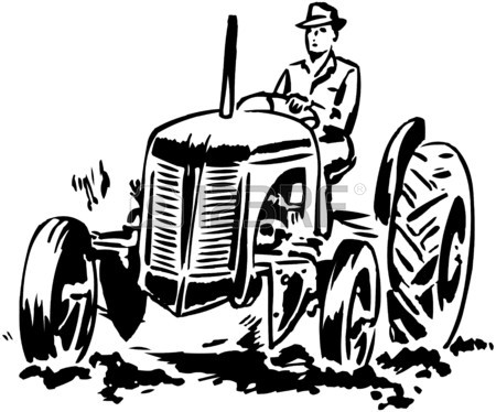 450x374 Drawing Tractor Stock Photos. Royalty Free Business Images