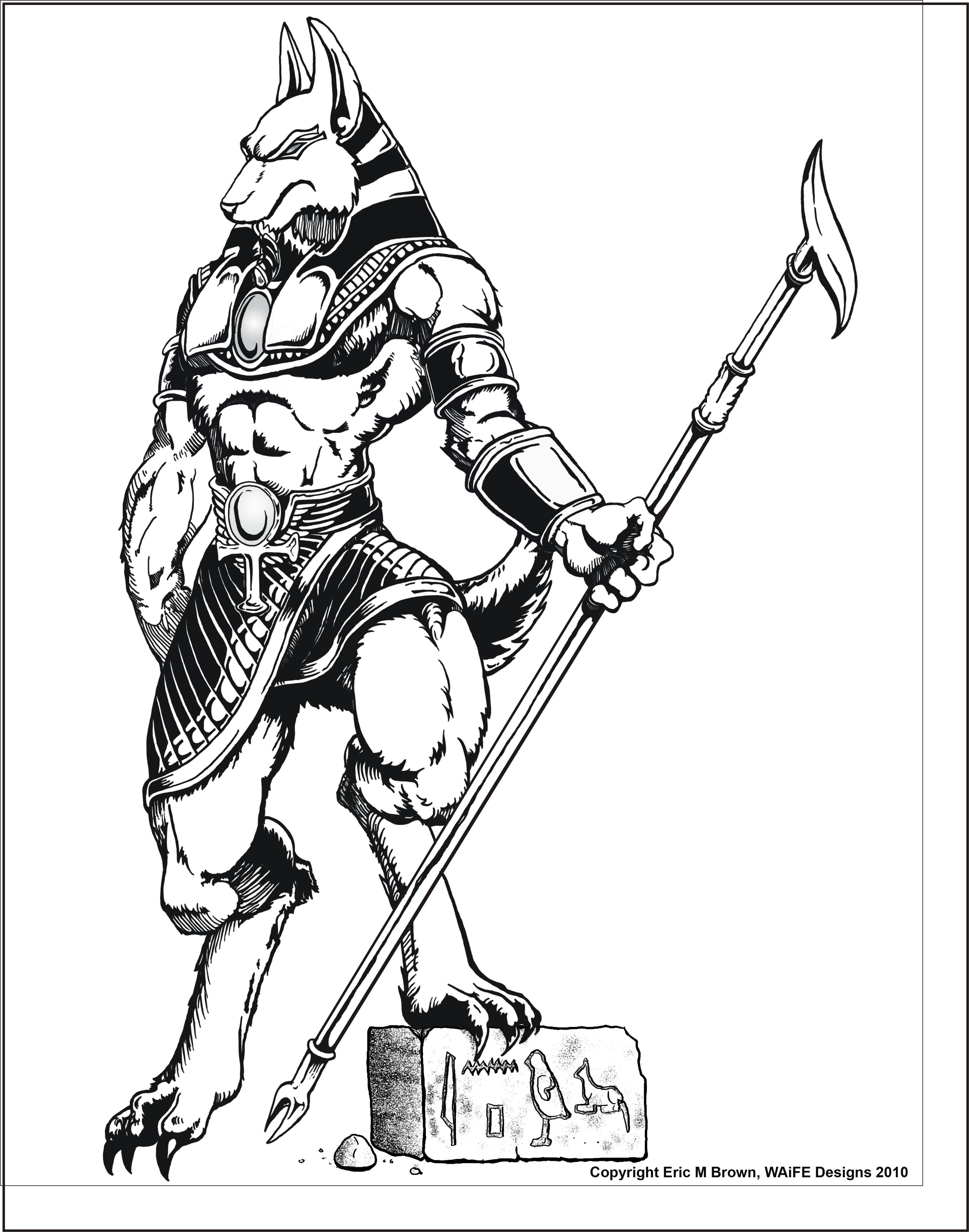 anubis drawing at getdrawings com