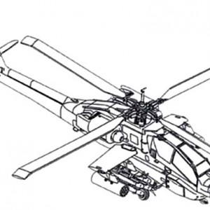 300x300 RAH 66 Comanche Apache Helicopter Coloring Pages Best Place To Color