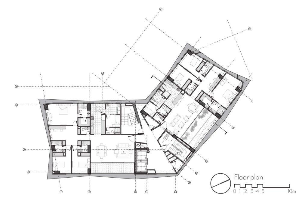 Apartment Building Drawing At Getdrawings Com