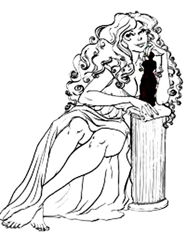 Aphrodite Drawing At Getdrawings Com Free For Personal Use