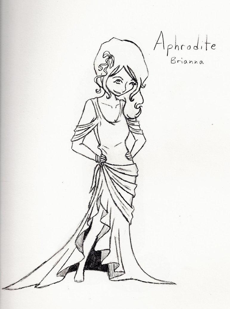 771x1036 Aphrodite (Sketch) By Smartallecsquirrel