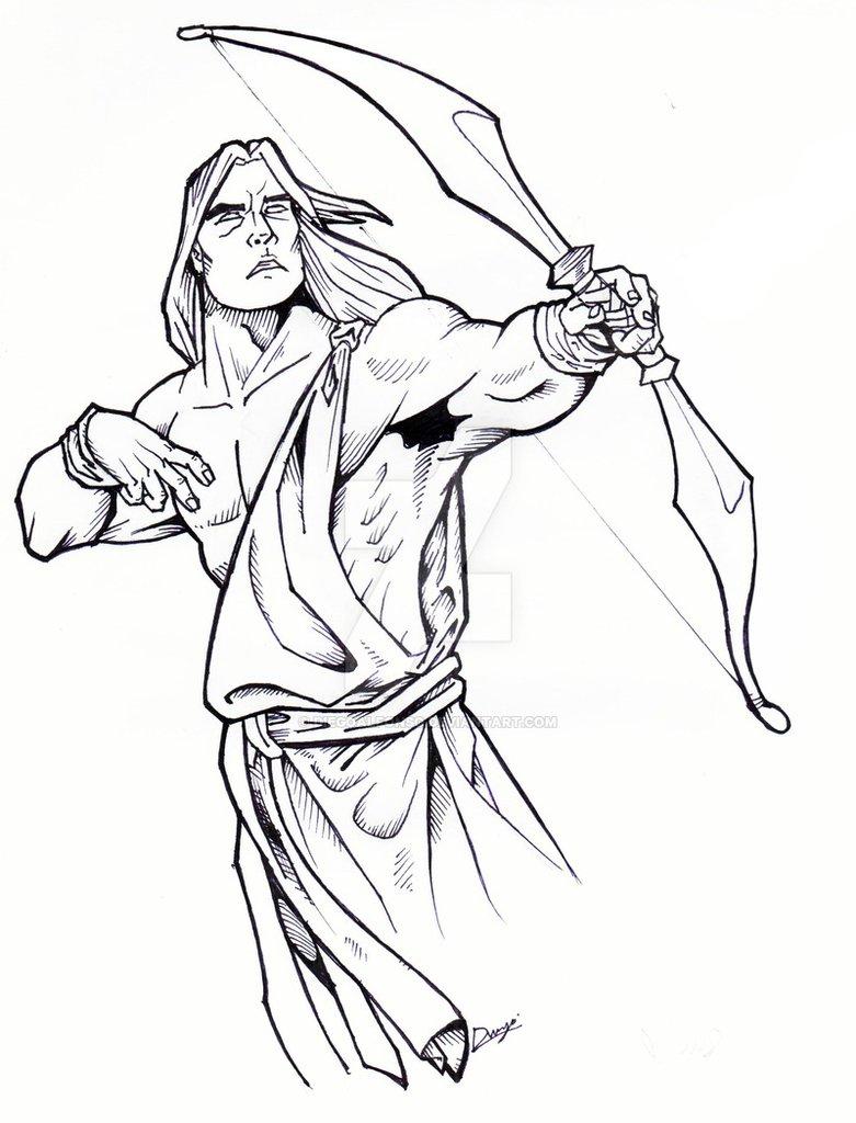 781x1024 Greek God Apollo By Diegoalfonso