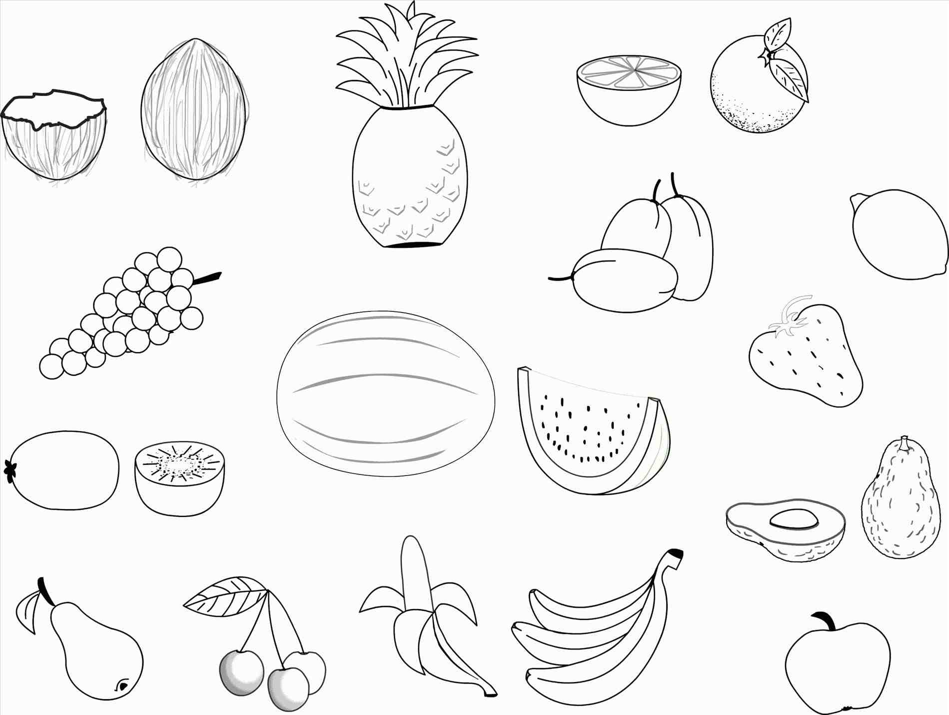 1899x1430 The Images Collection Of Apple Drawing For Kids Fruits With Leaf