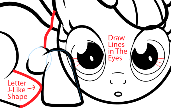600x385 How To Draw Apple Bloom From My Little Pony With Easy Step By Step