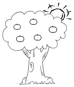 257x300 Free Apple Tree Clipart Image 0521 1004 2901 1627 Computer Clipart