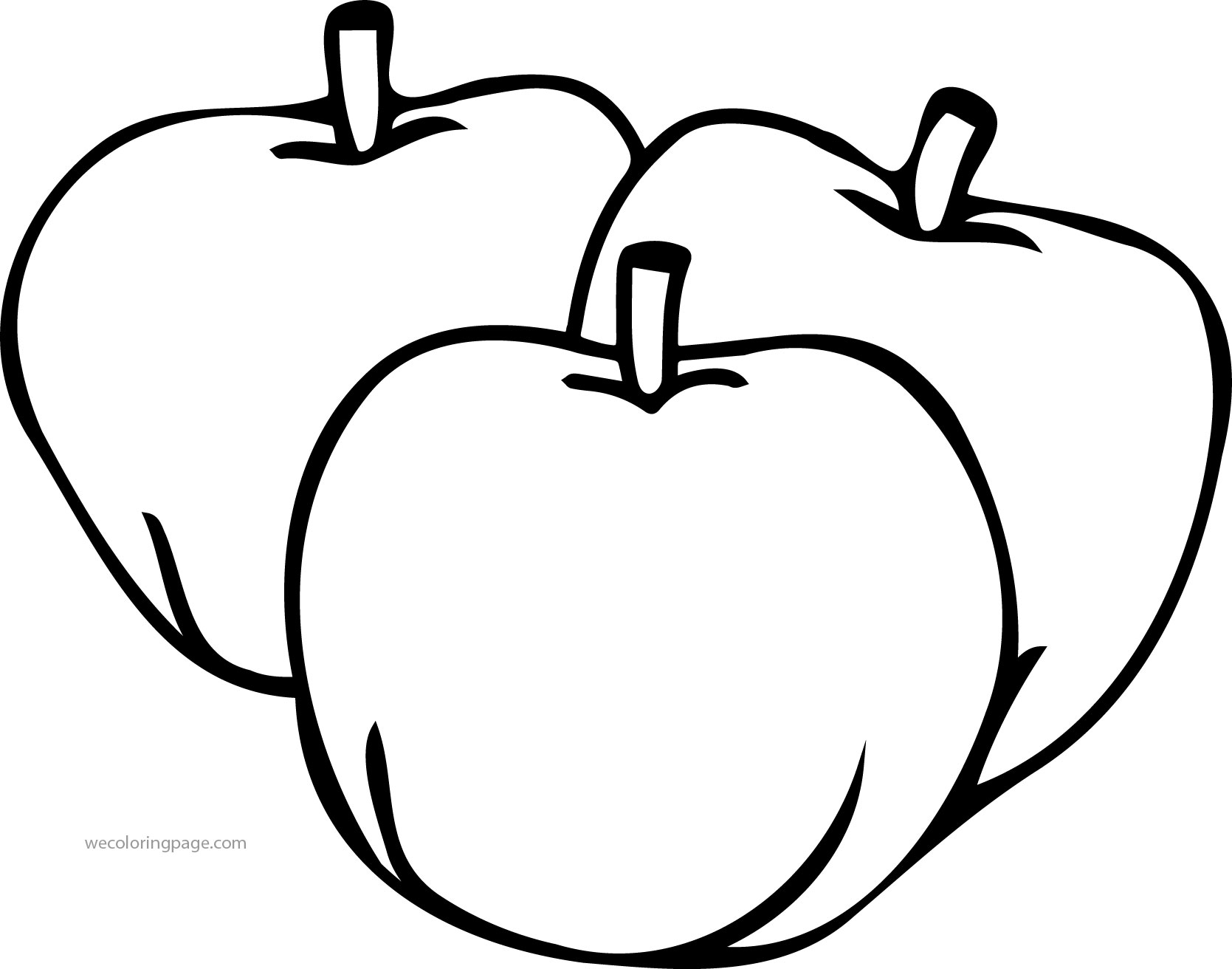 1669x1312 How To Draw Apple Coloring Pages For Kids Learn Colors With Leaf