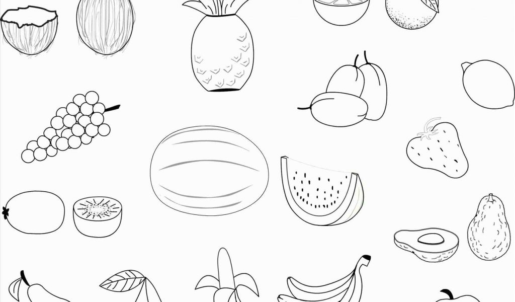 1024x600 The Images Collection Of Apple Drawing For Kids Fruits With Leaf