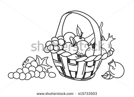 450x325 Apple Clipart Sketch