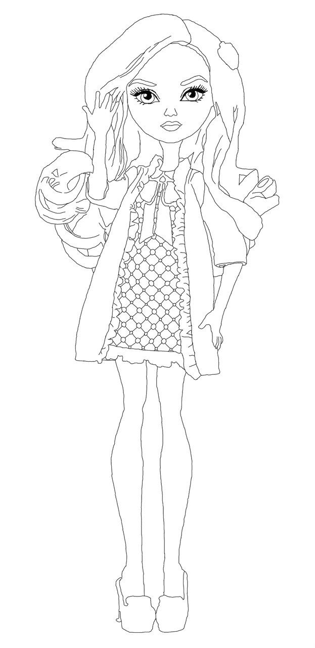 623x1281 Ever After High 878x734 Free Printable Apple Coloring Pages
