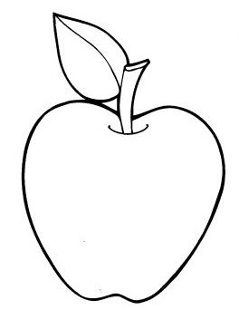 264x342 The 25 Best Apple Coloring Pages Ideas On Pinterest