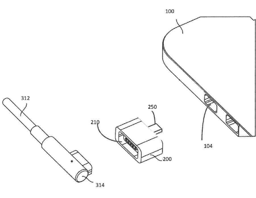 900x697 Apple Patent Hints At The Return Of The Magsafe Connector Ubergizmo