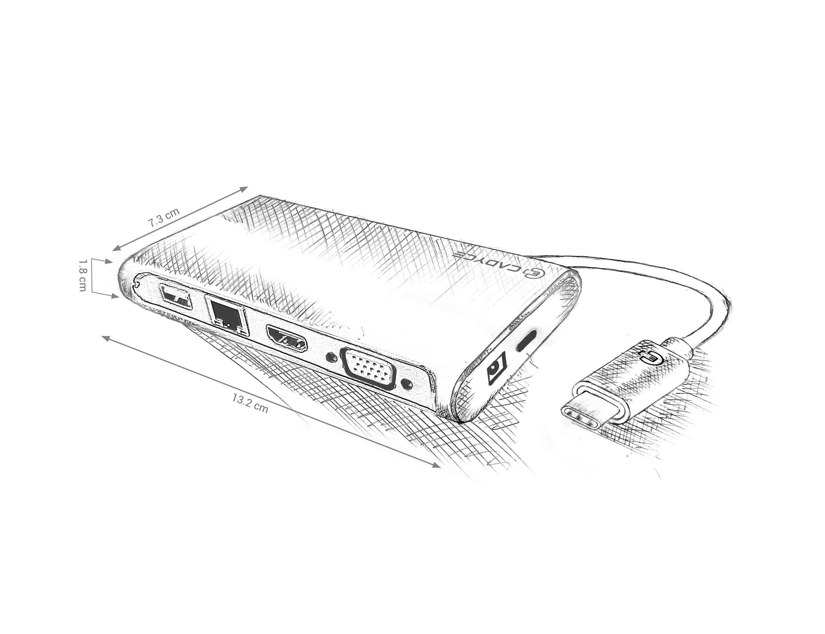 2859x2196 Cadyce Announces Its New Portable Travel Dock, Cadyce Ca C3tds