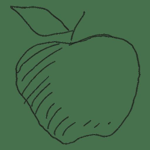 512x512 Hand Drawn Apple