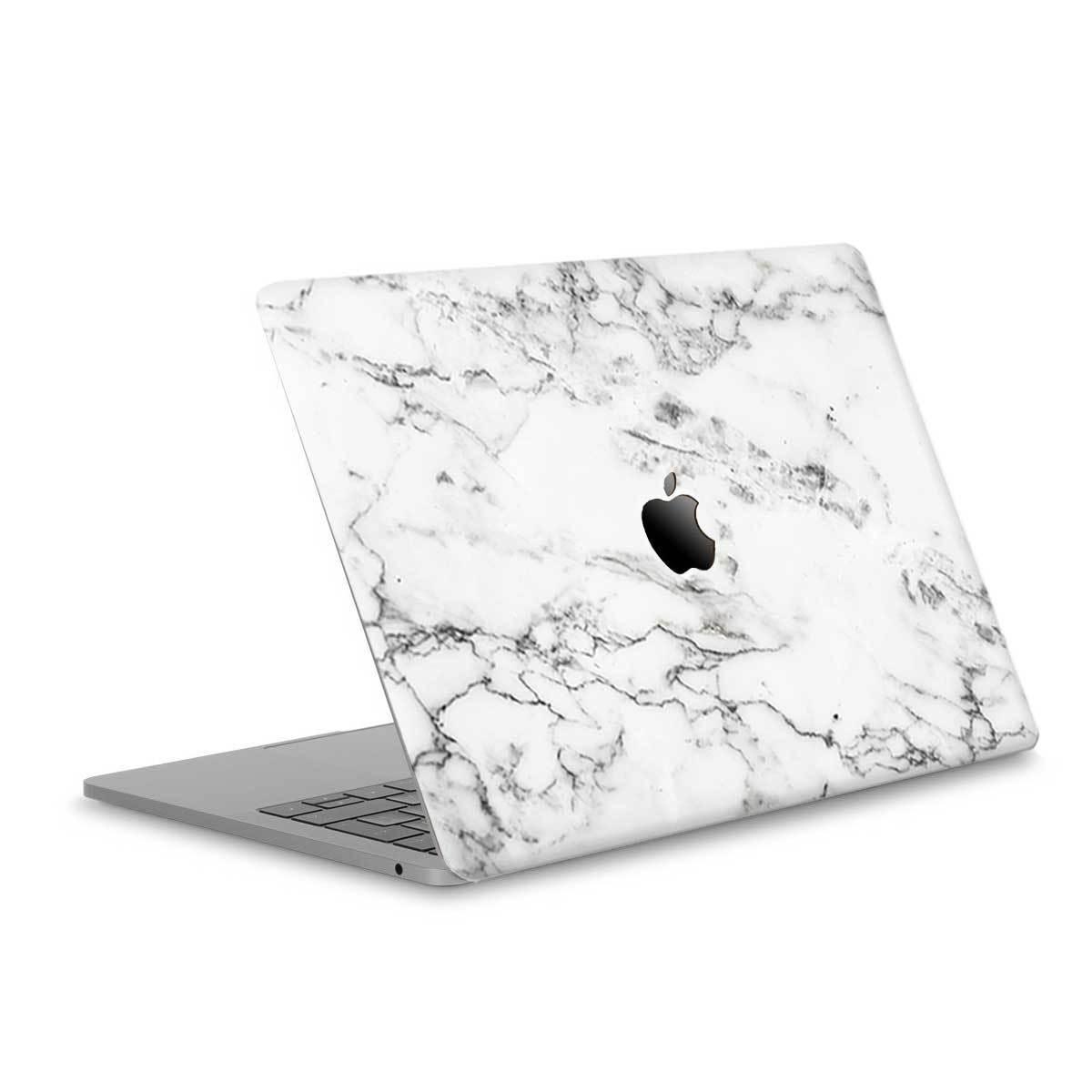 1200x1200 White Greek Marble Grain Skin For Apple Macbook