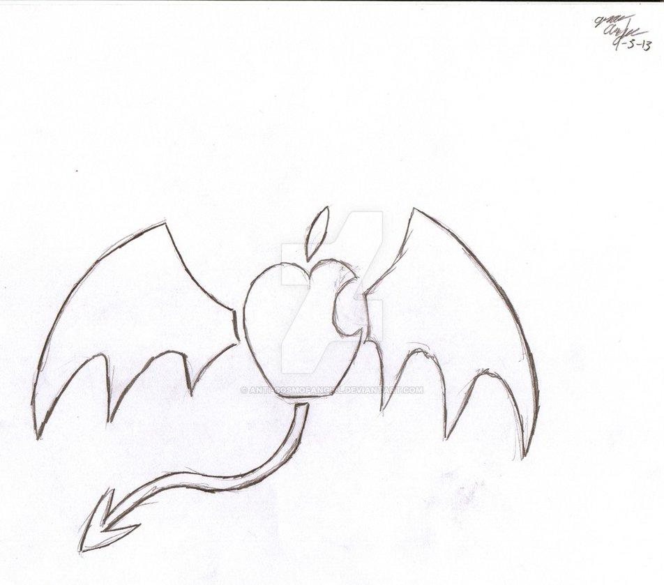 952x839 Anti Fairy Apple Logo By Anti Cosmofangirl