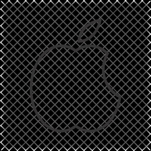 512x512 Apple Logo Icon