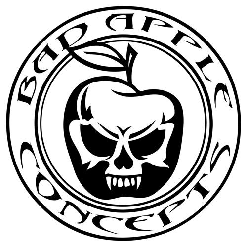 500x500 Bad Apple Concepts Hot Rod Builders T Shirt Logo Atomicworkshop