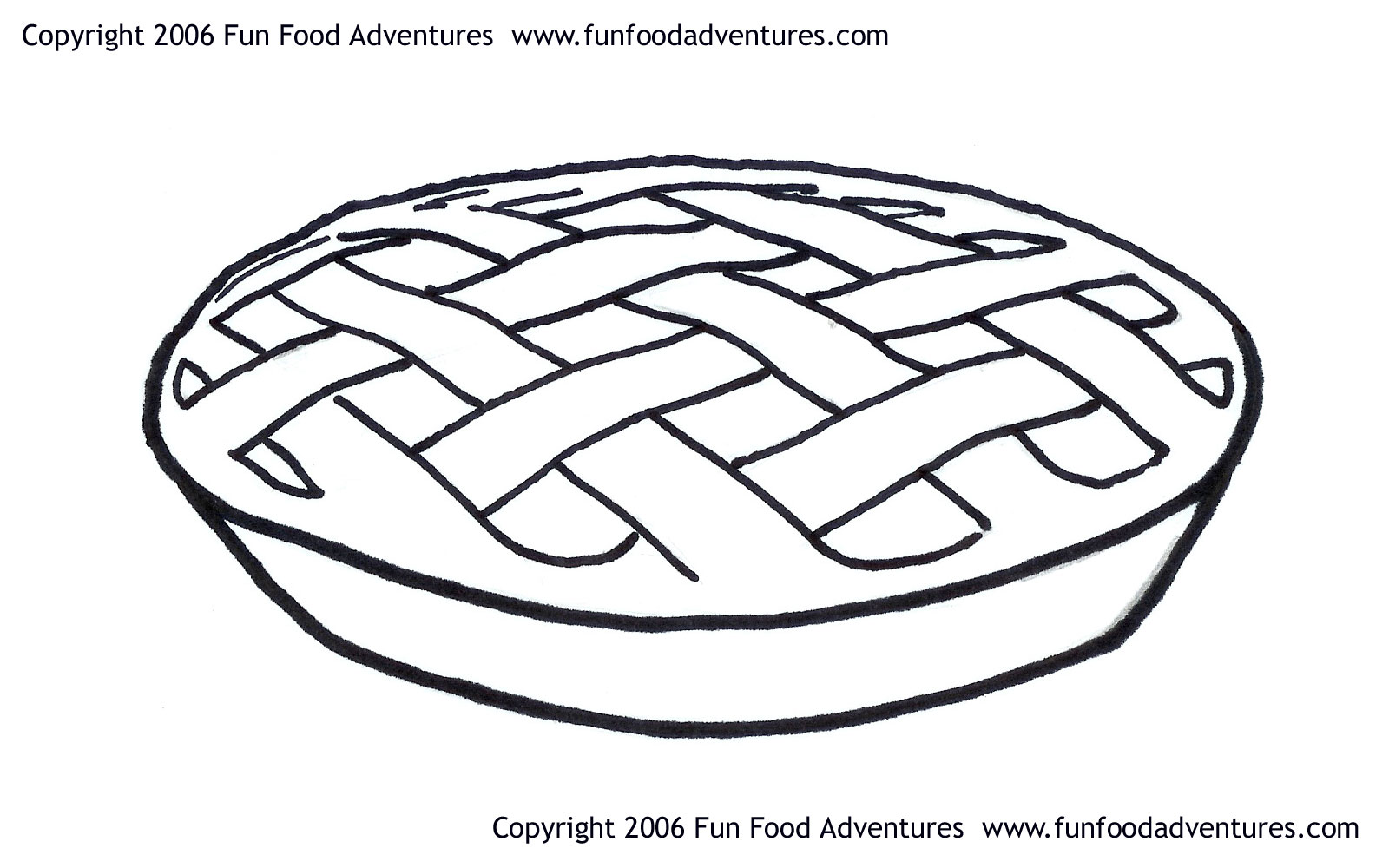 Coloring Pages To Print Free 1 1600x1000 Drawn Pies Apple Pie