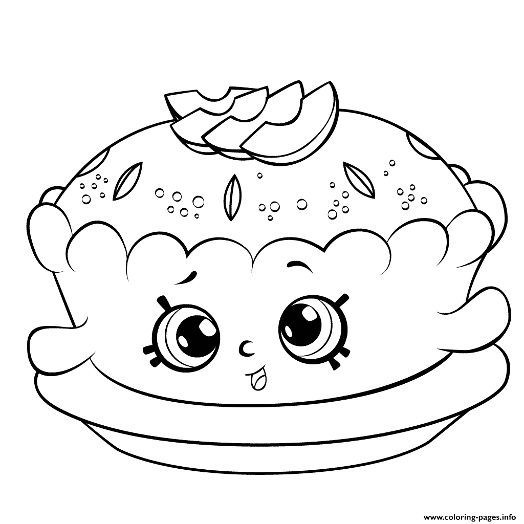 1024x1024 Print Shopkins Season 6 Apple Pie Coloring Pages Basia