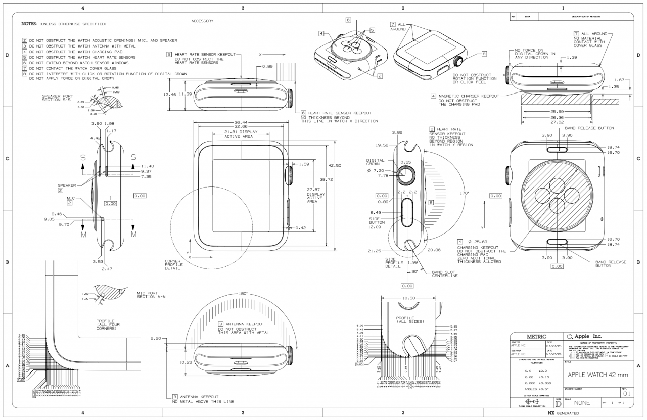 Apple watch drawing at getdrawings free for personal use apple 1280x831 apple posts detailed 38mm and 42mm apple watch schematics for malvernweather Image collections