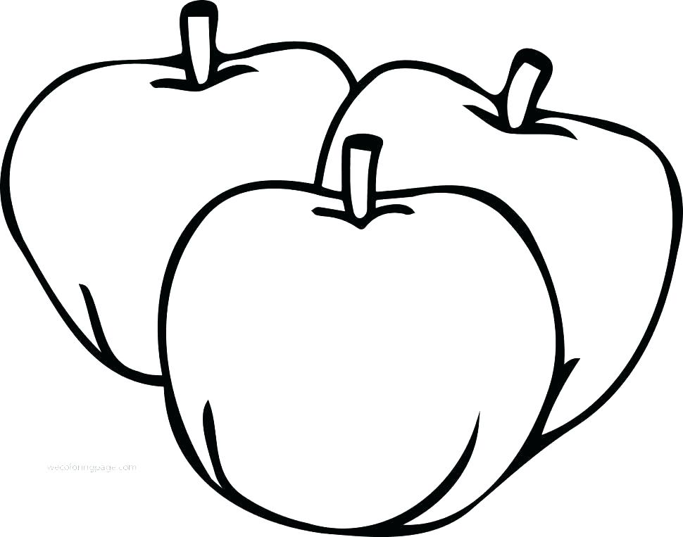 970x763 Apple Pictures To Color