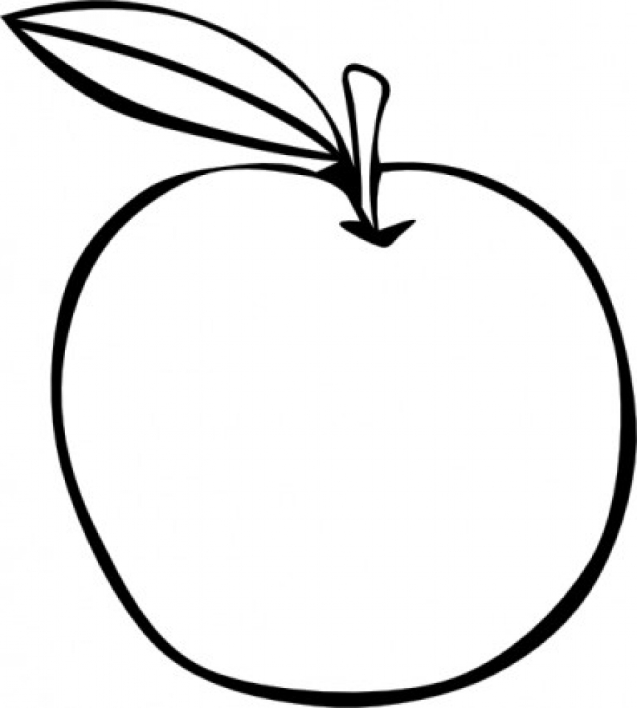 922x1024 Apple Drawing Clipart