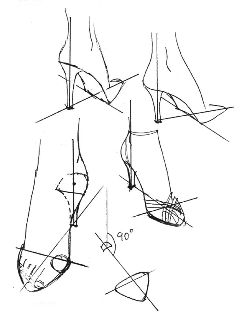 842x1094 Drawing High Heels Fashion Illustrations, Drawings And Sketches