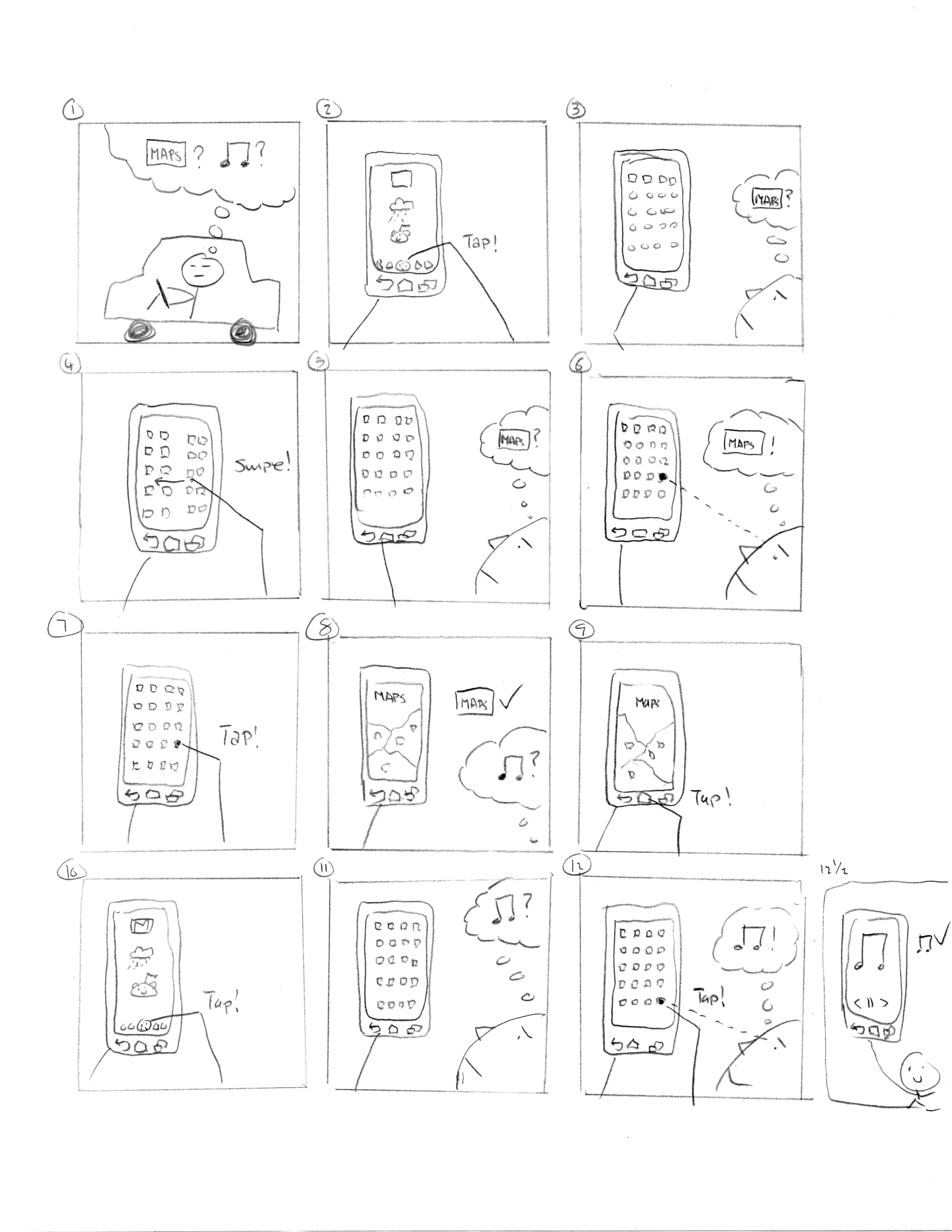 4590x5940 Human Computer Interaction Sketches And Storyboards By James Kim