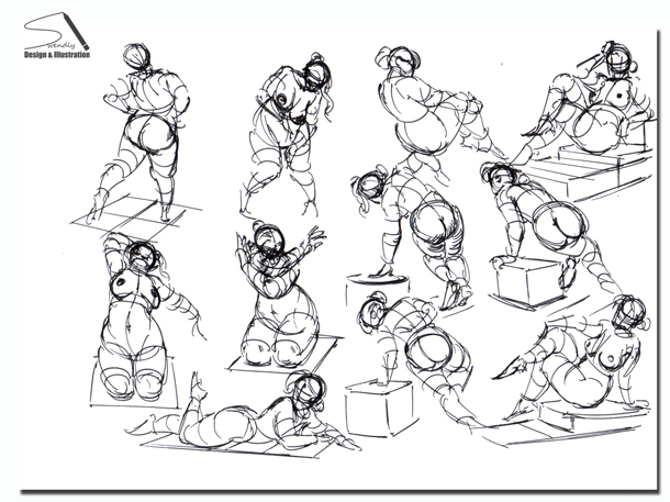 610x457 Quickposes Pose Library For Figure Amp Gesture Drawing Practice