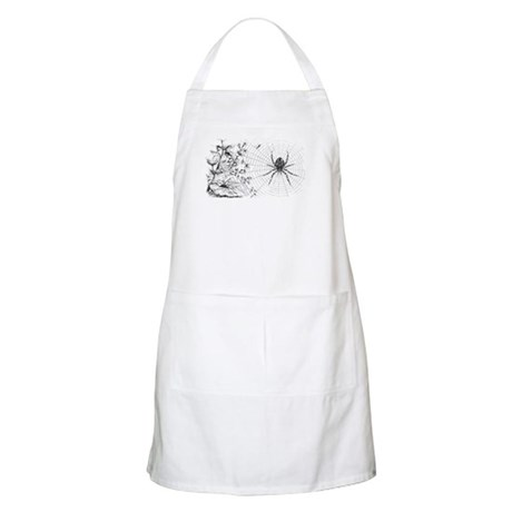 460x460 Spider Drawings Aprons Spider Drawings Cooking Aprons For Men