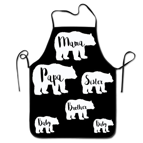 463x463 Brother Bear Waterproof Kitchen Apron Chef Aprons