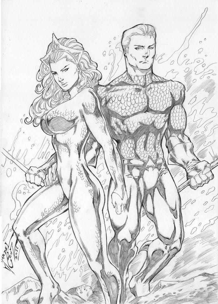 Aquaman Drawing