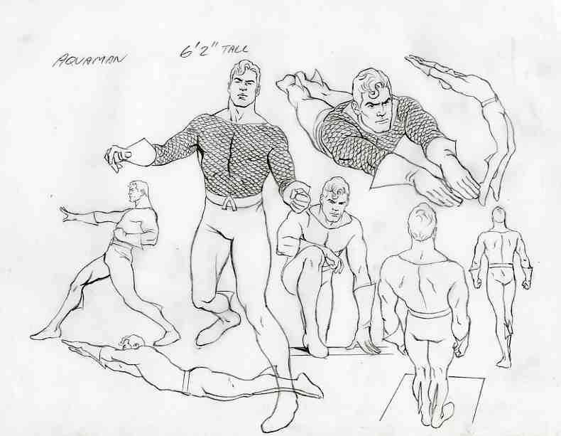 790x613 Alex Ross Aquaman, In Sal Abbinanti's Alex Ross Drawings 2011