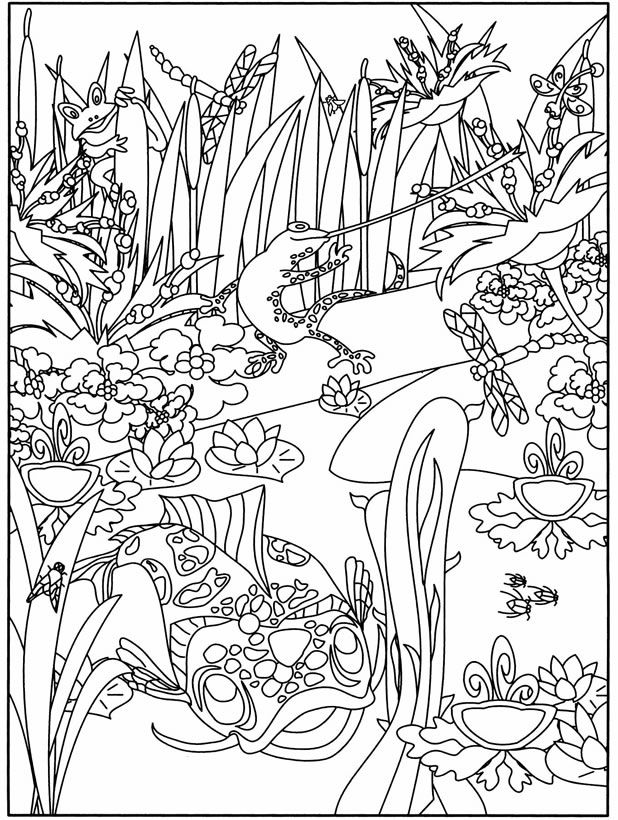 618x820 Welcome To Dover Publications Boost At The Aquarium Coloring Book