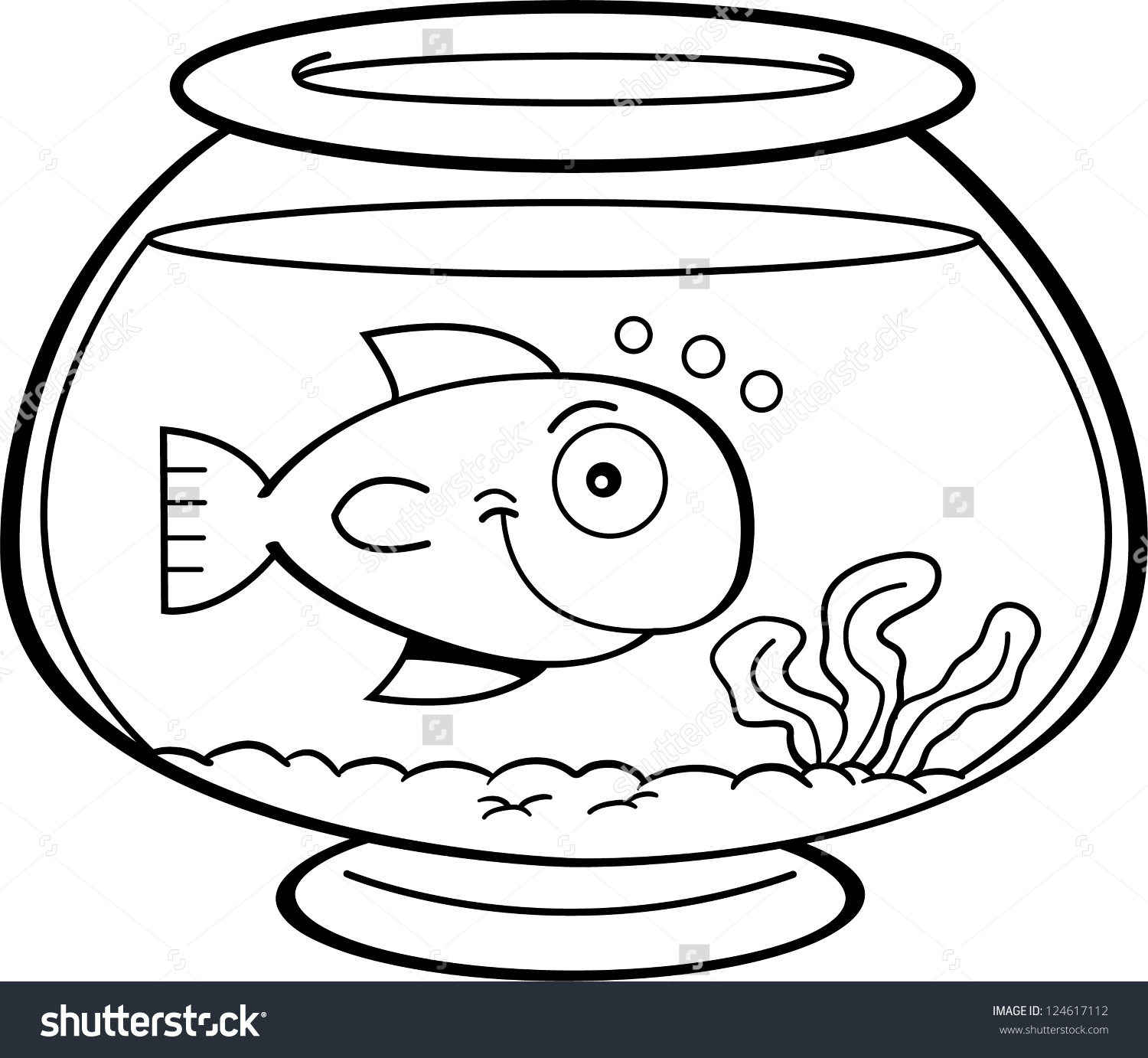 Aquarium Fish Drawing at GetDrawings