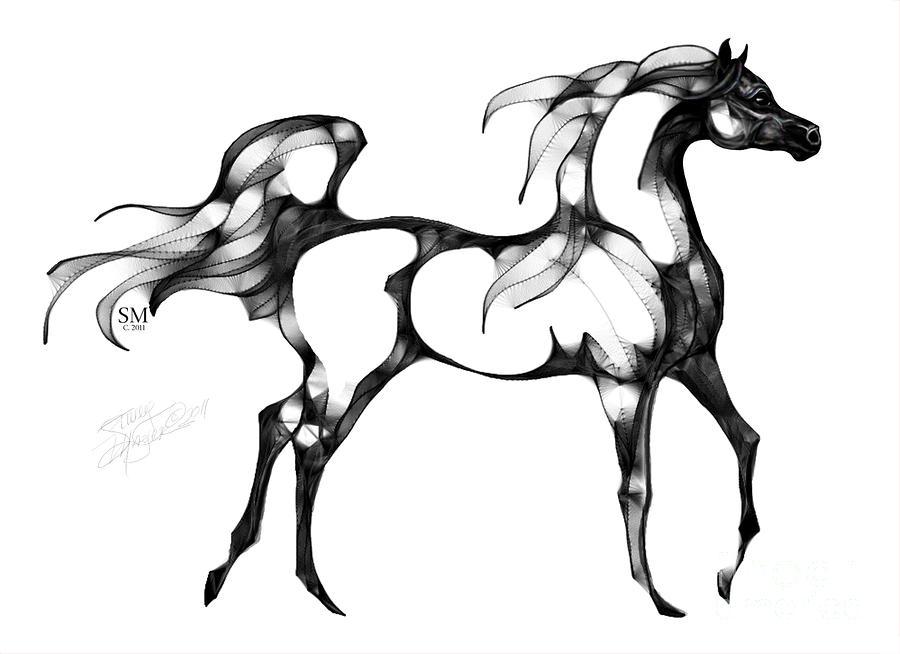 900x654 Arabian Horse Overlook Arabian Horses In Art Horse