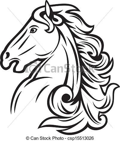 402x470 Arabian Horse Head Clipart 101 Clip Art