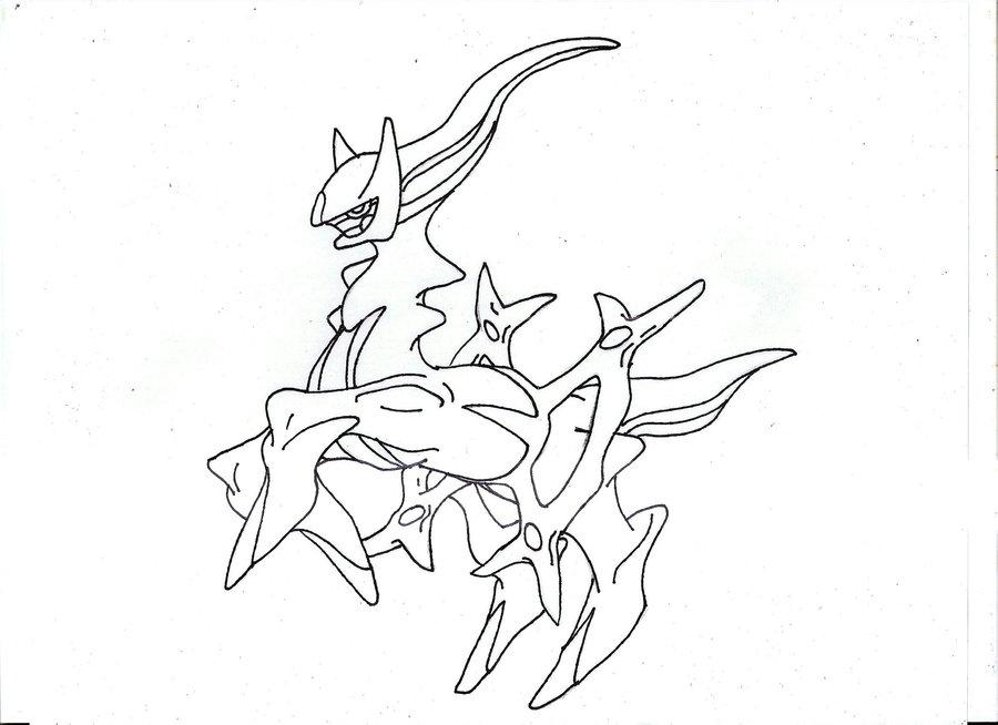 Arceus Drawing