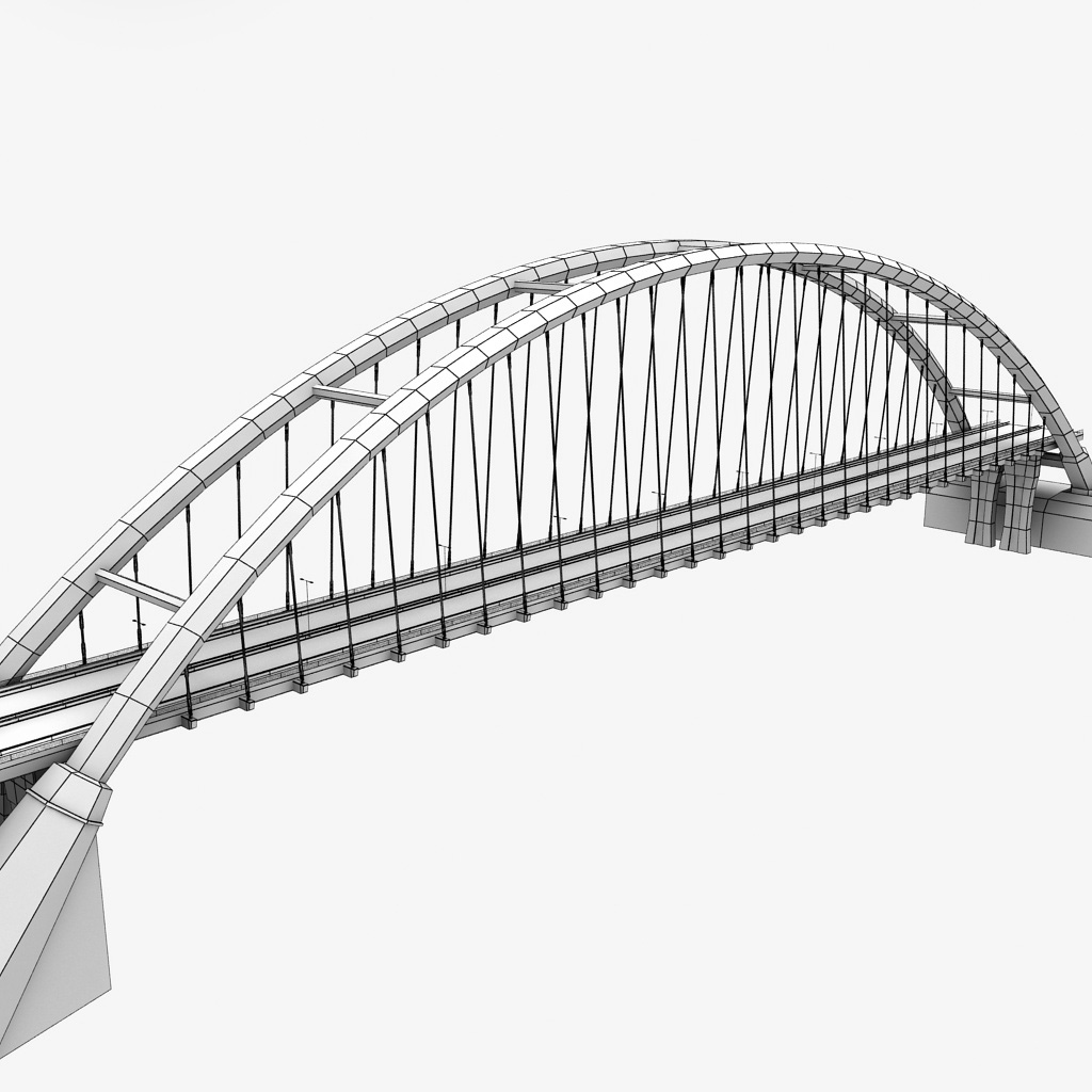 arch bridge drawing at getdrawings free for personal use arch Sub and Amp Wiring Diagram 1024x1024 suspended arch bridge by kr3atura 3docean